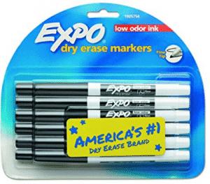 EXPO 86001 Low Odor Dry Erase Marker
