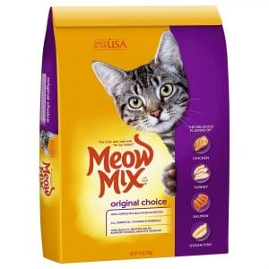 Meow Mix 4Health Cat Food, Original Choice Dry Cat Foods
