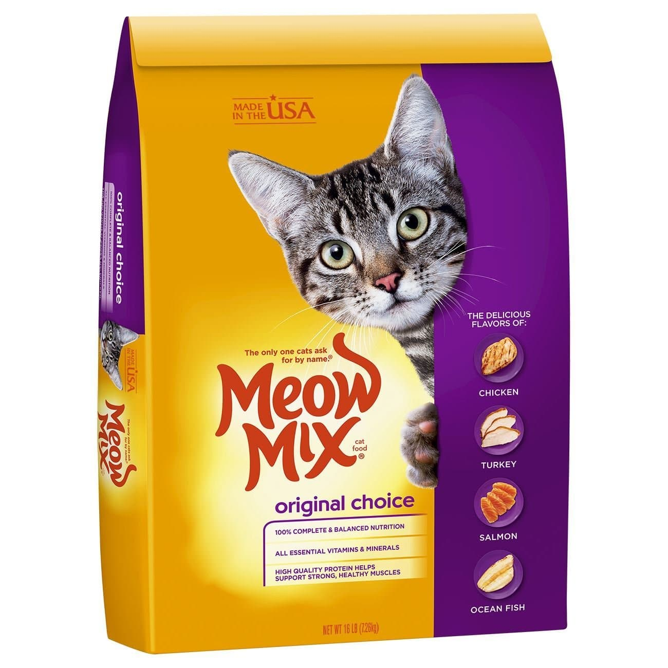 Dry Cat Foods Compare