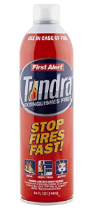 First Alert AF400 Tundra Fire Extinguishing Aerosol Spray