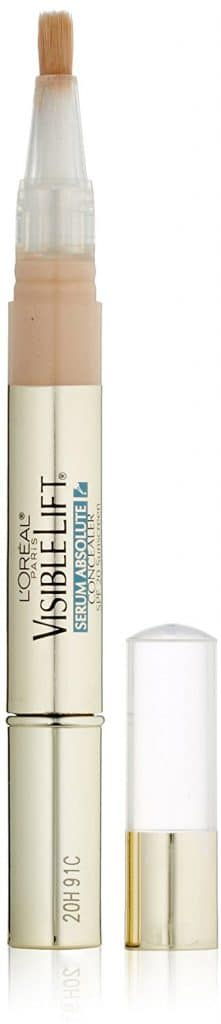 L'Oreal Paris Visible Lift Serum Absolute Concealer, Fair, 0.05 Ounce, 1 Count