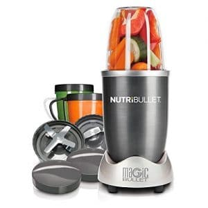 NutriBullet Blender, Magic Bullet NutriBullet 12-Piece High-Speed Blender