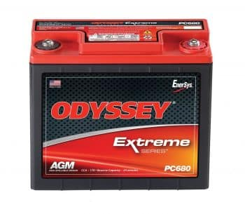 Odyssey PC680, Car Batteries