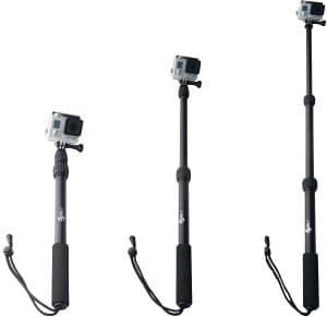 ActionSports Aluminum Waterproof GoPro Selfie Sticks, Waterproof selfie stick for Gopros