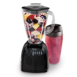 Oster Simple Blend 100 10-Speed Blender with Blend and Go Cup