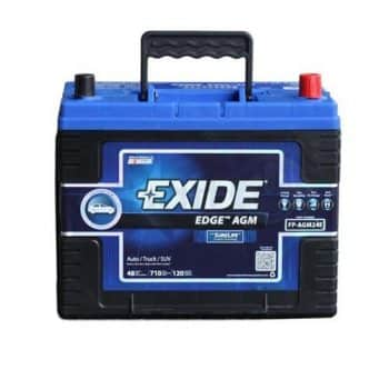 Exide, Edge FP-AGM24F Flat Plate AGM Sealed