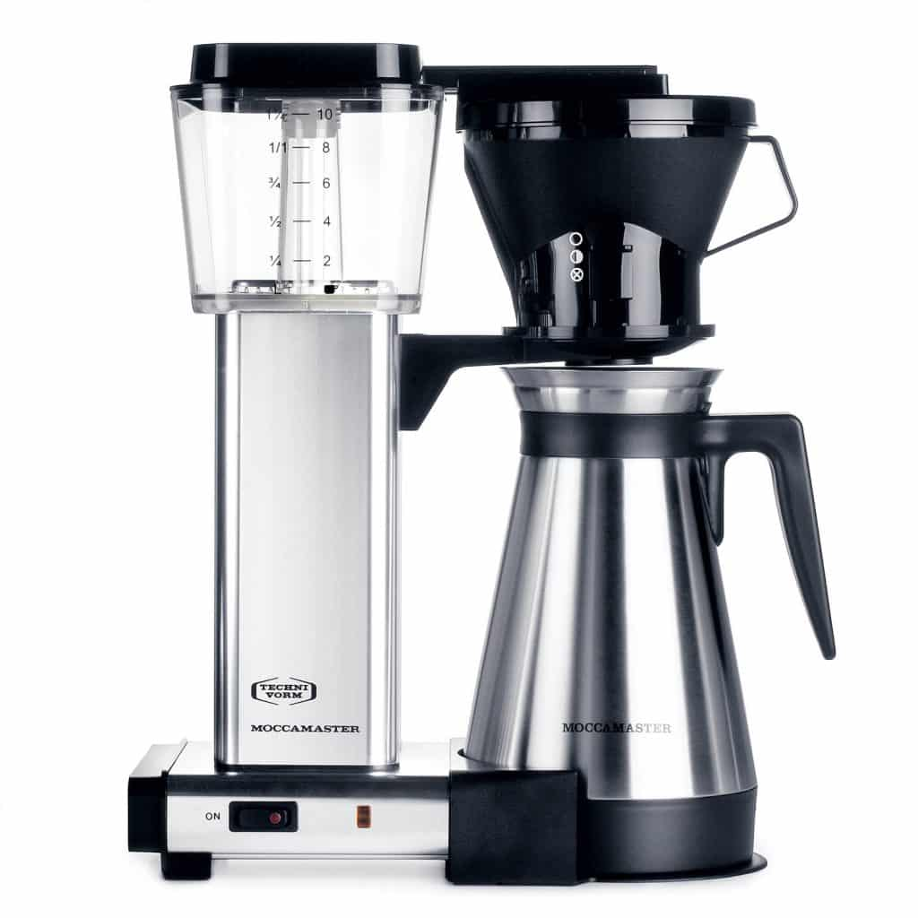 Technivorm Moccamaster,Moccamaster KBT 10-Cup Coffee Brewer with Thermal Carafe