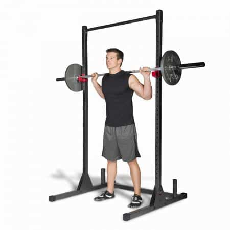 Free Standing Pull Up Bars, Cap Barbell Power Rack Exercise Stand