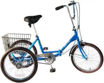 Adult Tricycle Blue