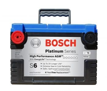 Bosch, S6563B S6 AGM car Battery - Car Batteries