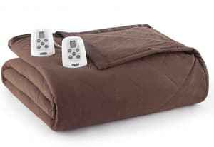 Electric Blankets, Shavel Home Products Three King, Cocoa, King / California King