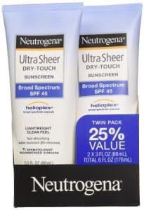 Sunscreen For Sensitive Skins