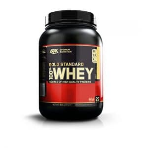 Optimum Nutrition French vanilla whey protein for women