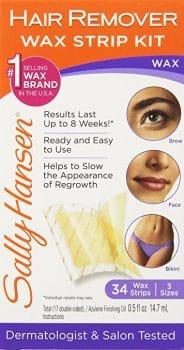 Sally Hansen, Hair Remover Wax Strip Kit for Face