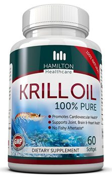 Hamilton Healthcare's, 100% Pure Krill Oil