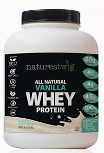 NaturesTwig, Vanilla whey protein for men - Whey Proteins For Men