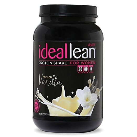 Whey isolate protein for women