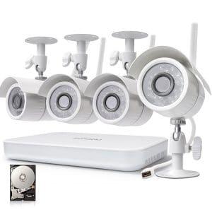 Zmodo Wireless Security Camera, 720p High Definition, Wireless Security Cameras
