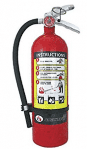 Badger 21007866 Advantage5 lb ABC Fire Extinguisher w/ Wall Hook