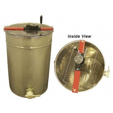 BuildaBeehive, Honey Extractor Spinner Constructed of High-Polished Stainless Steel