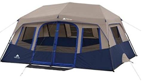 Ozark Trail 10-Person Cabin Tent, Pop Up Tents