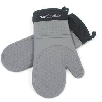 Life Quintessentials Silicone, Oven Mitts