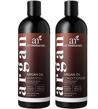 1. Art Naturals' Moroccan Shampoo and Conditioner Set- Shampoo and Conditioner Sets