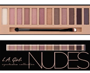 L.A. Girl Beauty Brick Eyeshadow, Nude