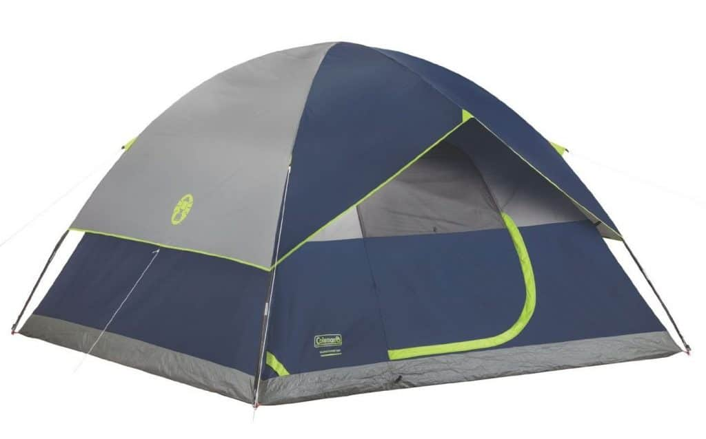 Coleman Sundome 6-Person Tent - Pop Up Tents