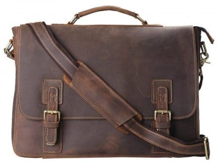 Kattee, Men's Leather Messenger bag