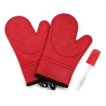 The Kitchen Haven Silicone Oven Mitts