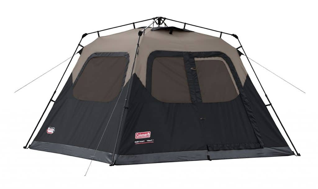Coleman 6-Person Cabin Tent - Pop Up Tents