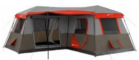 Ozark Trail 12-Person Cabin Tent - Pop Up Tents
