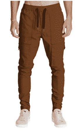 Italy Morn Men Chino Cargo Jogger Pants