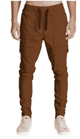 Italy Morn Men Chino Cargo Jogger Pants