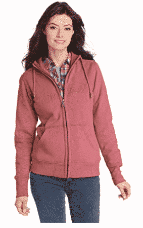 Carhartt Women's Clarksburg Zip Front Sweatshir