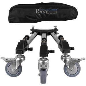 Ravelli ATD Professional Tripod Dolly - Tripod Dolly for Camera