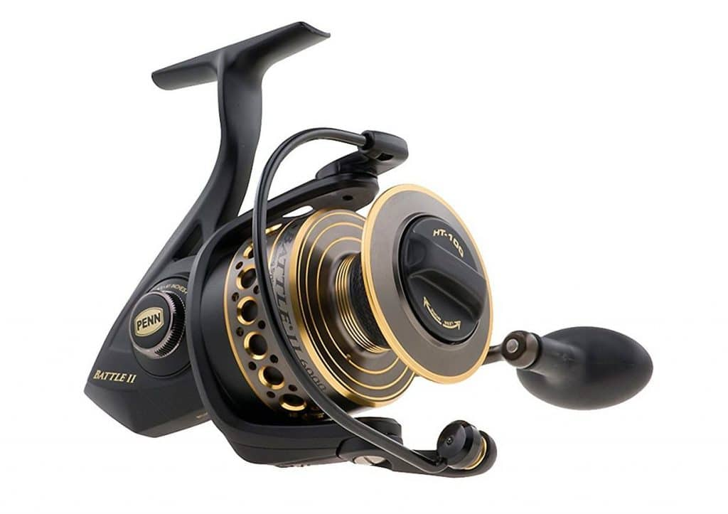 Penn Battle II 1000 Spinning Fishing Reels