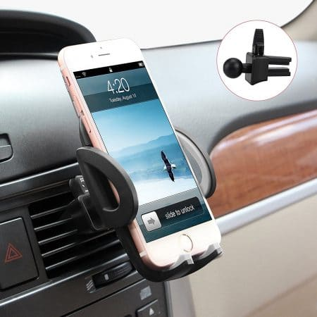 top 10 best cell phone holders for car in 2018 july 2018. Black Bedroom Furniture Sets. Home Design Ideas