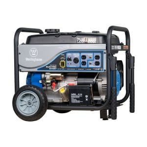 Westinghouse WH7500E Portable Generator, Generator at Home Depot