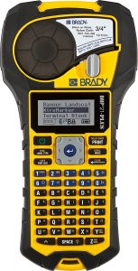 Brady BMP21-PLUS Handheld Label Printer with Rubber Bumpers