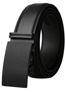 Dante, Men's Leather Ratchet Dress Belt