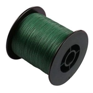 Times Braided Fishing Line, Generic 100%Pe Braided Fishing Line 6-300Lb Test Moss Green 100m-2000m