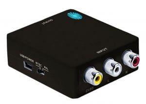 Top-grade Mini Composite 3 RCA / AV - RCA to HDMI, RCA to HDMI Converters