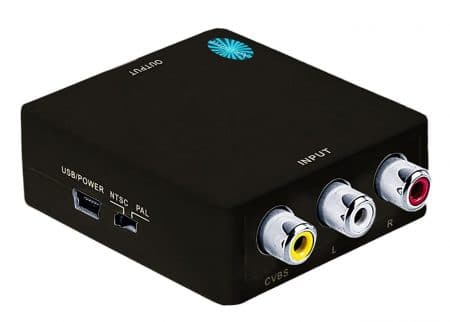 Top-grade Mini Composite 3 RCA / AV - RCA to HDMI