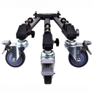 Dolica LT-D100 Professional Lightweight and Heavy Duty Tripod Dolly