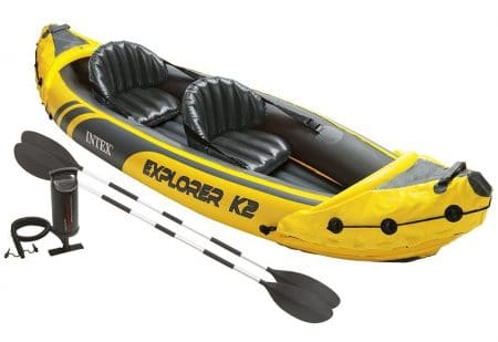 Intex Explorer K2 Kayak - 2-Person Inflatable Kayak