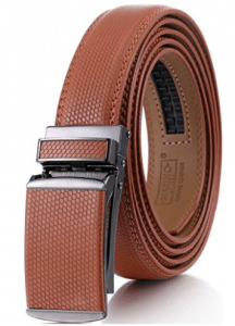 Marino Avenue, Marino Men's Genuine Leather Ratchet Dress Belt