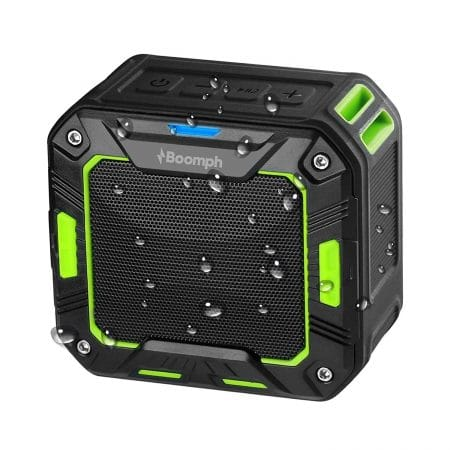 Boomph Wireless Water Resistant Bluetooth 2000 MAH Speakers
