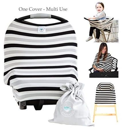 2 Pack Baby Car Seat Cover Canopy